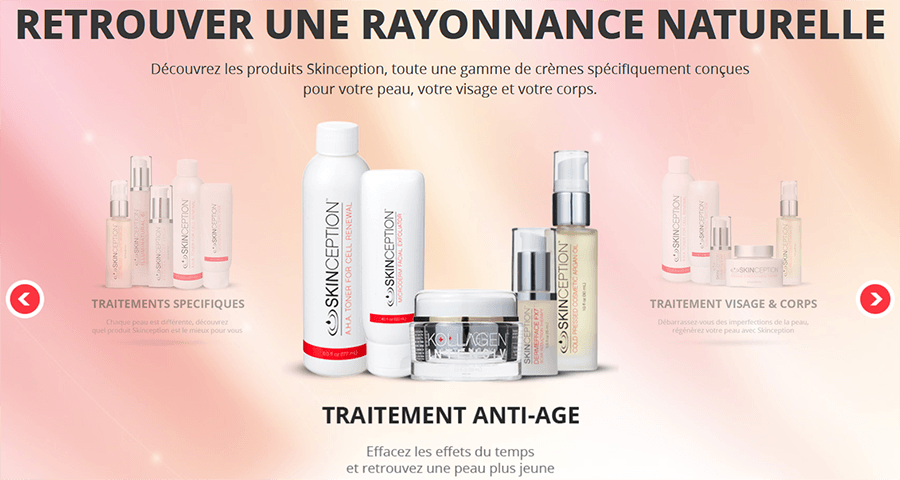 skinception france