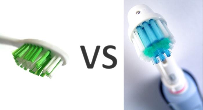 brosse à dent électrique ou manuelle
