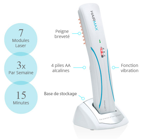 hairmax lasercomb advanced 7
