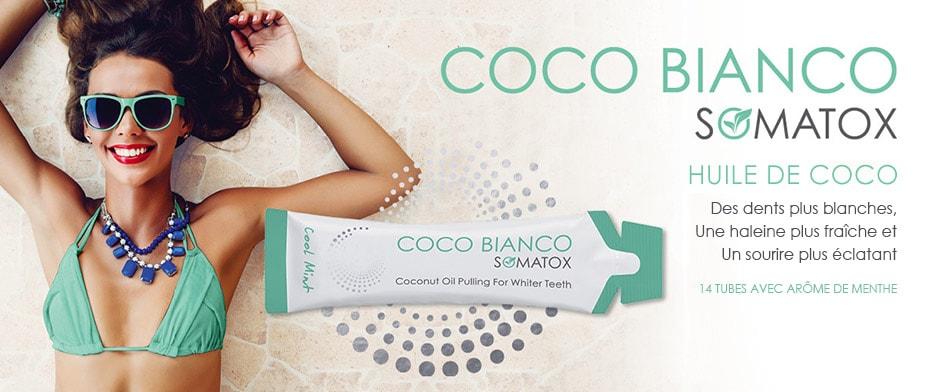 huile de coco bianco