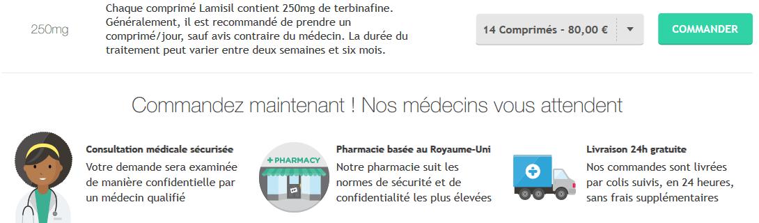 lamisil 250 mg acheter en ligne sur treated