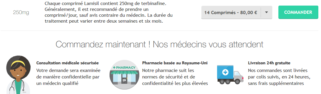 Acheter Medicament Lamisil Online