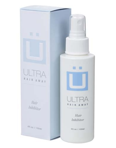 spray ultra hair away lotion inhibitrice poils