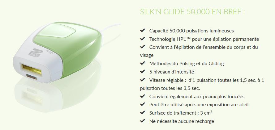 silk'n glide 50000