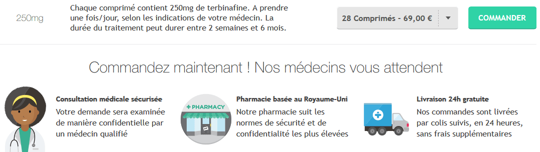 terbinafine 250 mg acheter en ligne sur treated