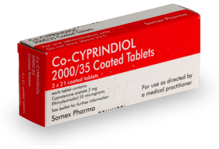 co-cyprindiol acne