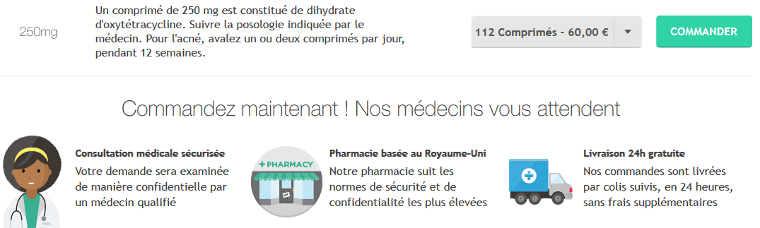 oxytetracycline prix