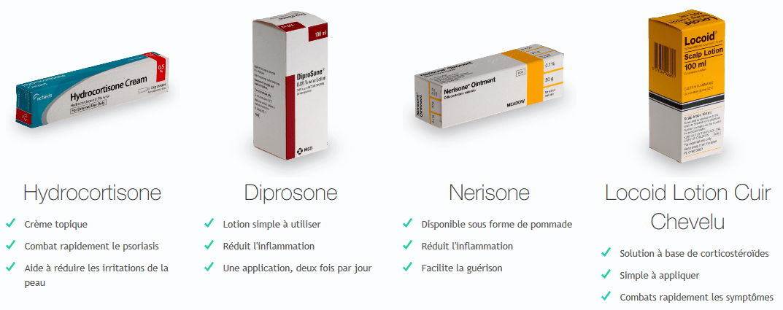 medicament pour psoriasis
