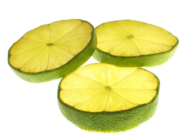 citron vert dents blanches