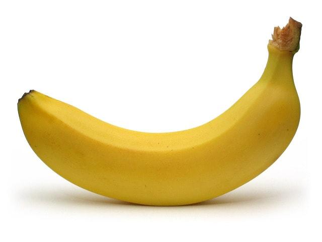 peau banane dents blanches