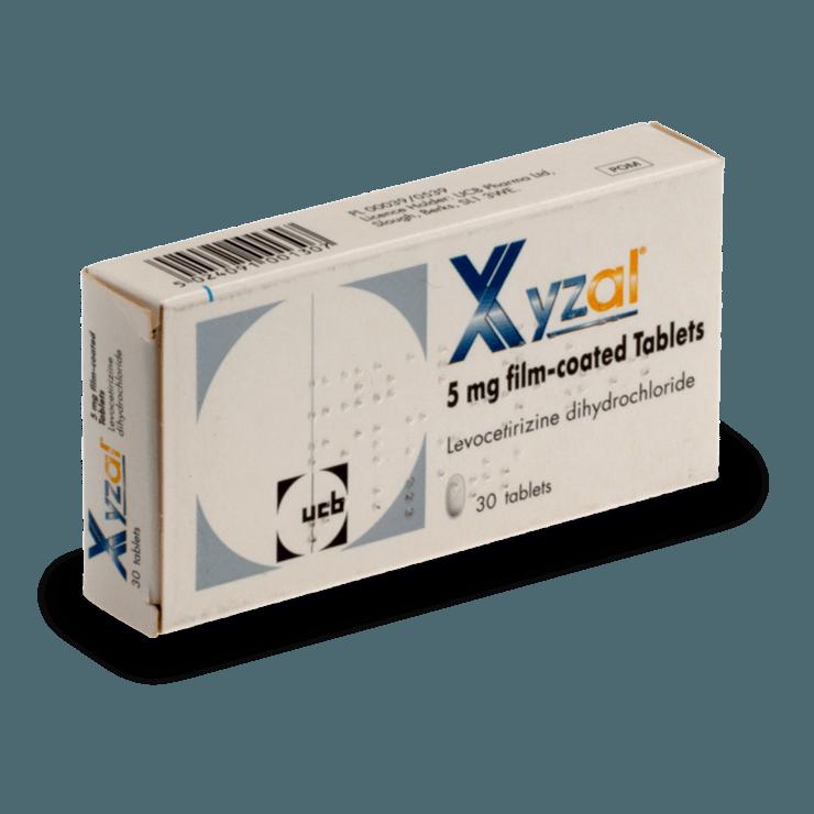 xyzall 5 mg