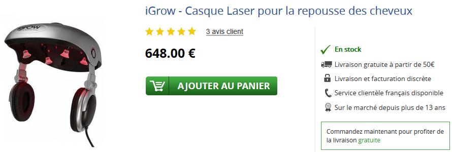 igrow laser prix