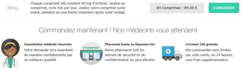 acheter pilule alli