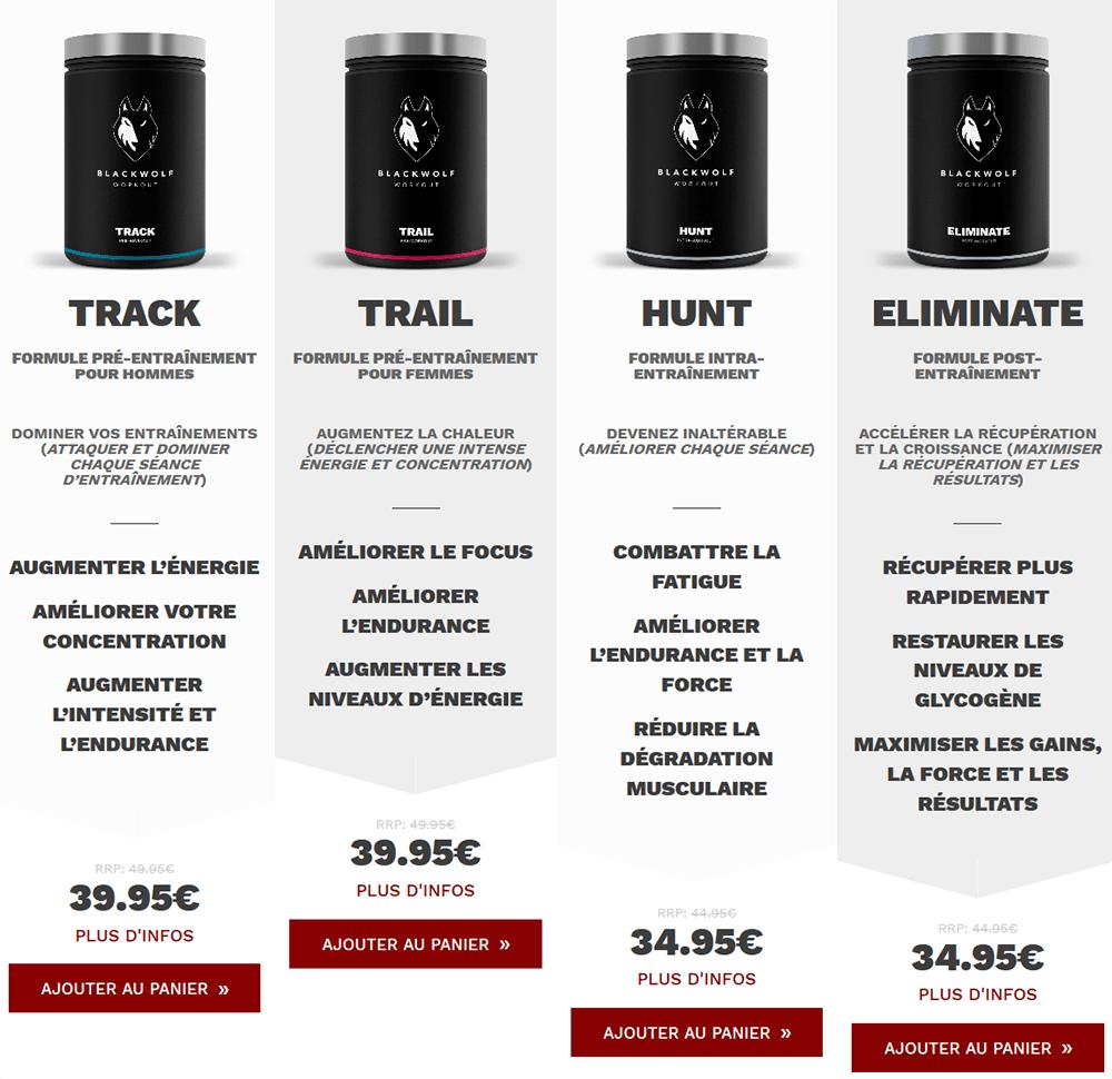 blackwolf prix