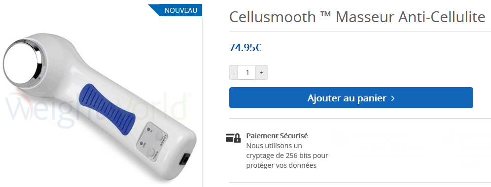 cellusmooth prix