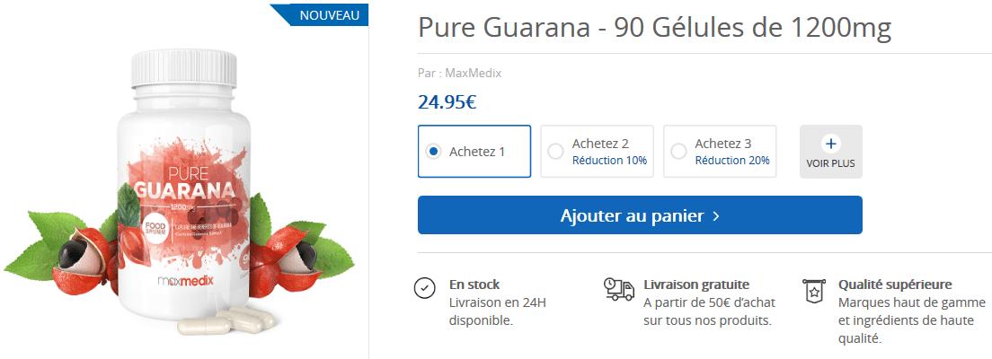 guarana prix