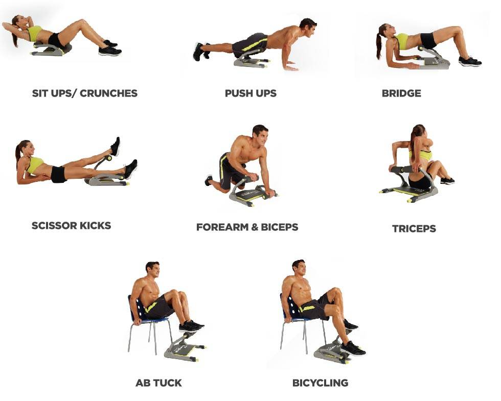 wonder core smart exercice guide