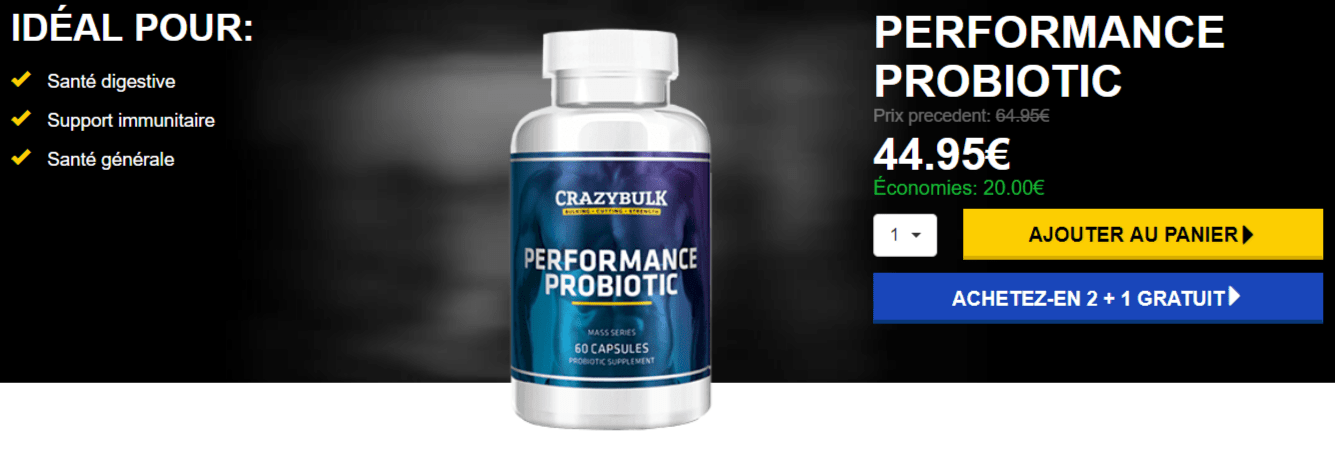 acheter probiotique prix